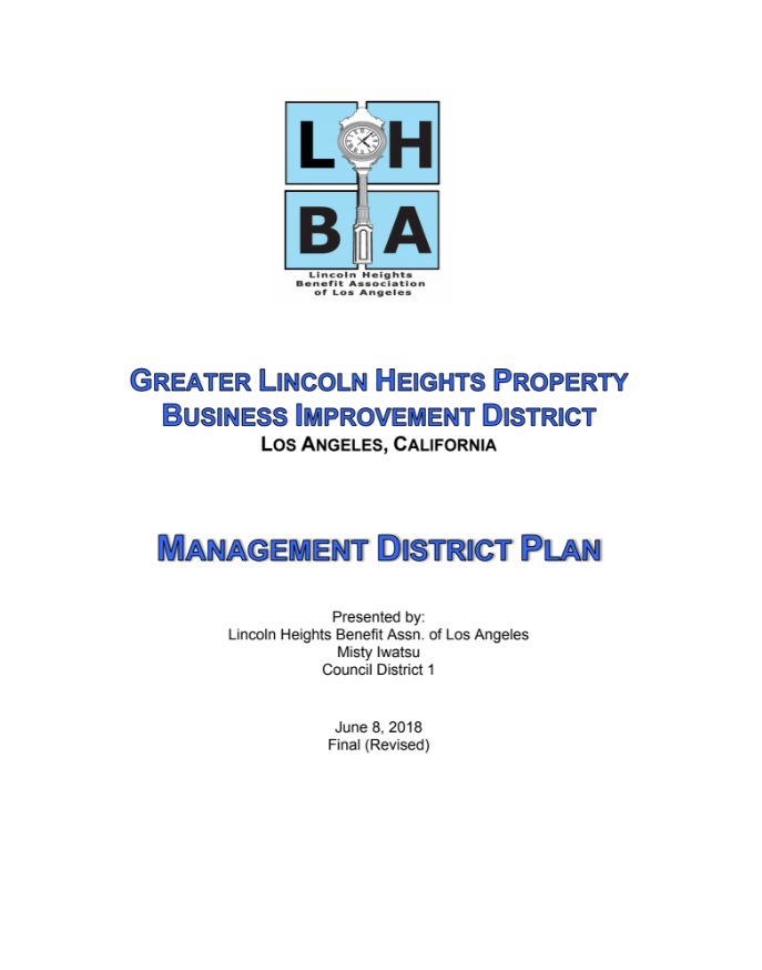 Lincoln Heights Preservation Plan