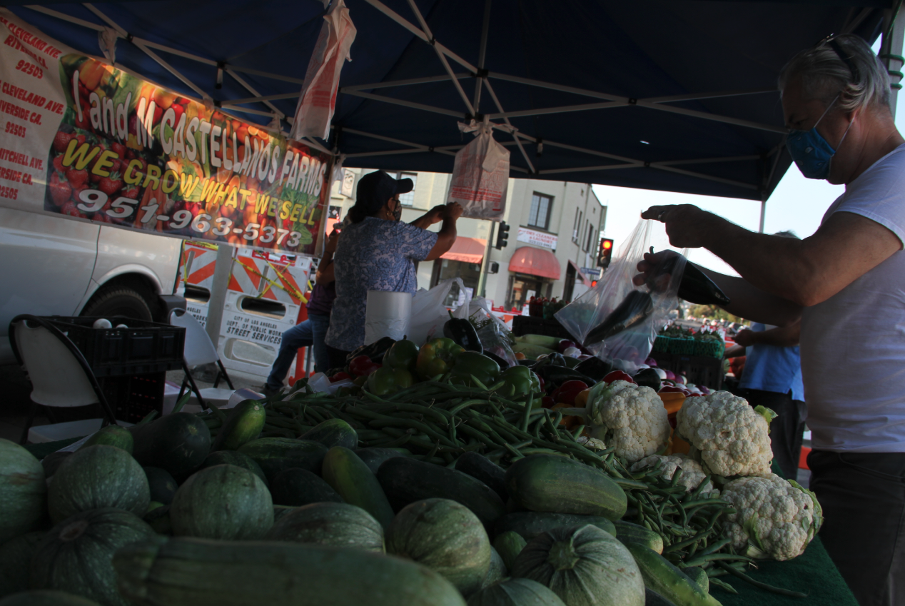 Vegetables Lincoln Heights Certidfied Farmers Market