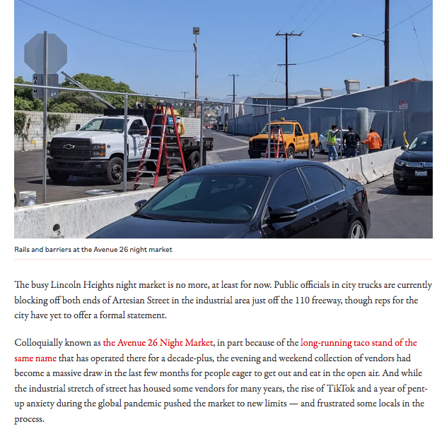 Lincoln Heights City Closure